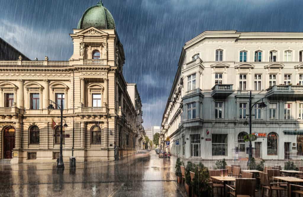 Kamienice przy ul.Piotrkowskiej