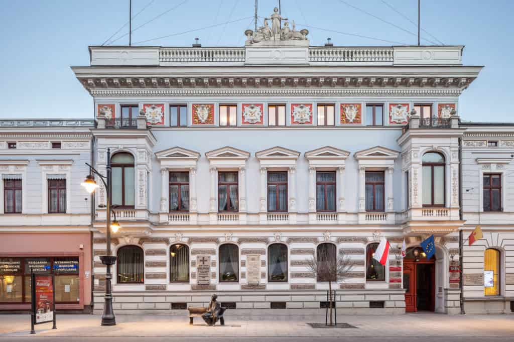 Pałac Juliusza Heinzla przy ul.Piotrkowskiej