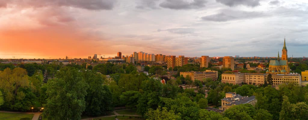 Panorama Łódź