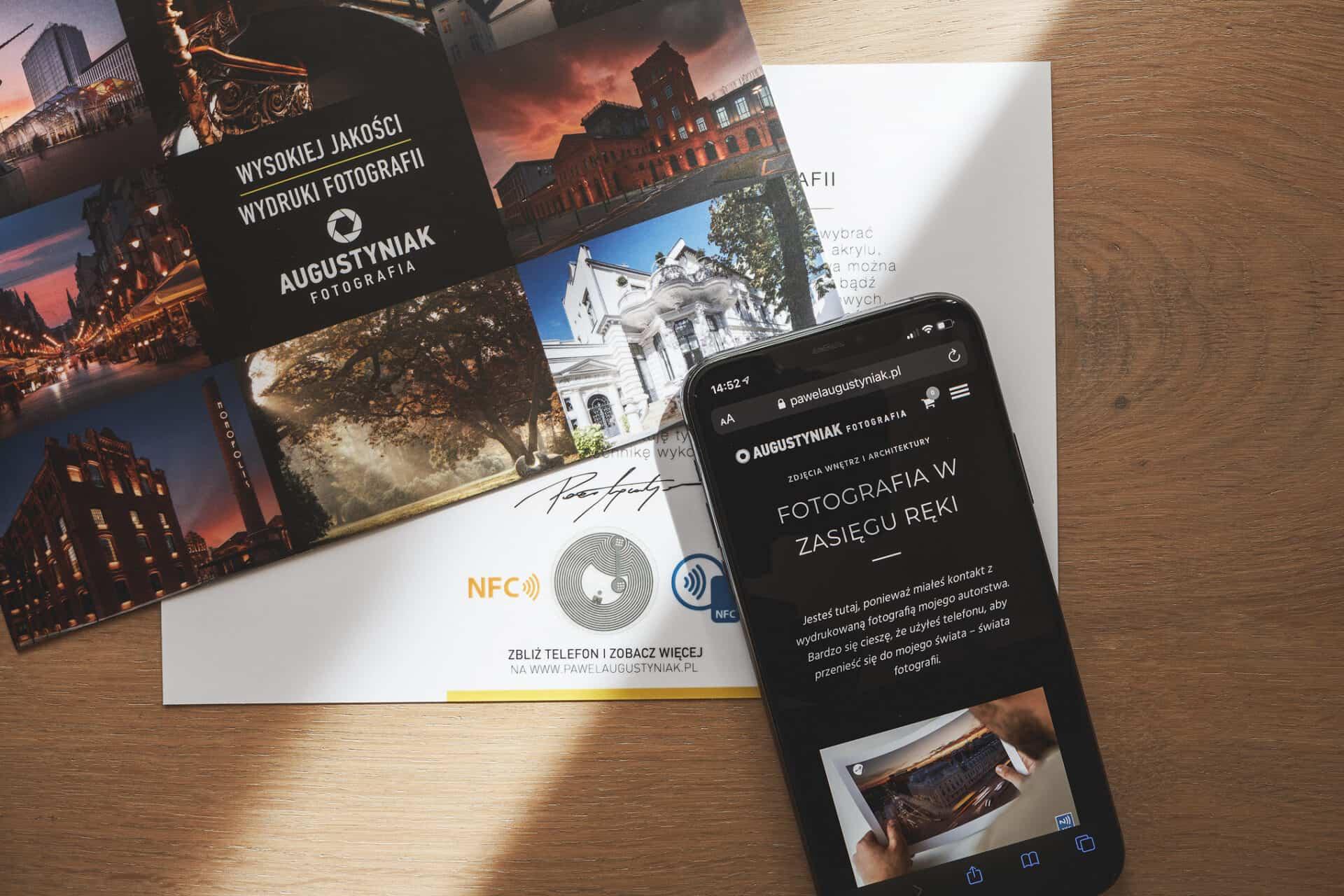 NFC PawełAugustyniak z iPhone X